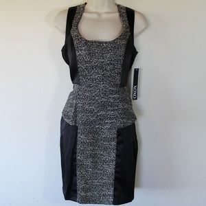 XOXO Size 9/10 Peplum Dress Black NWT